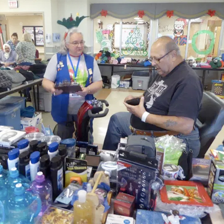 Christmas Gift Shops — offering holiday cheer to veterans since 1928
