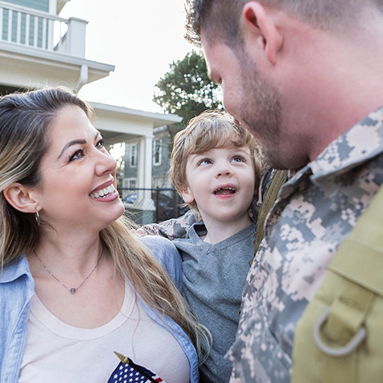 Military spouses say bend, don't break when life throws a curveball