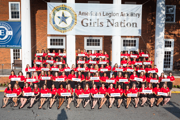ALA Girls Nation Group